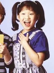 Jenna Ushkowitz childhood photo one at pinterest.com