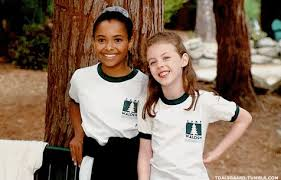 Kat Graham childhood photo two at pinterest.com