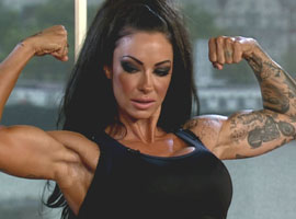 Jodie Marsh On Bodybuilding Photos: 'I Look Like A 16st Beast Of A Man'
