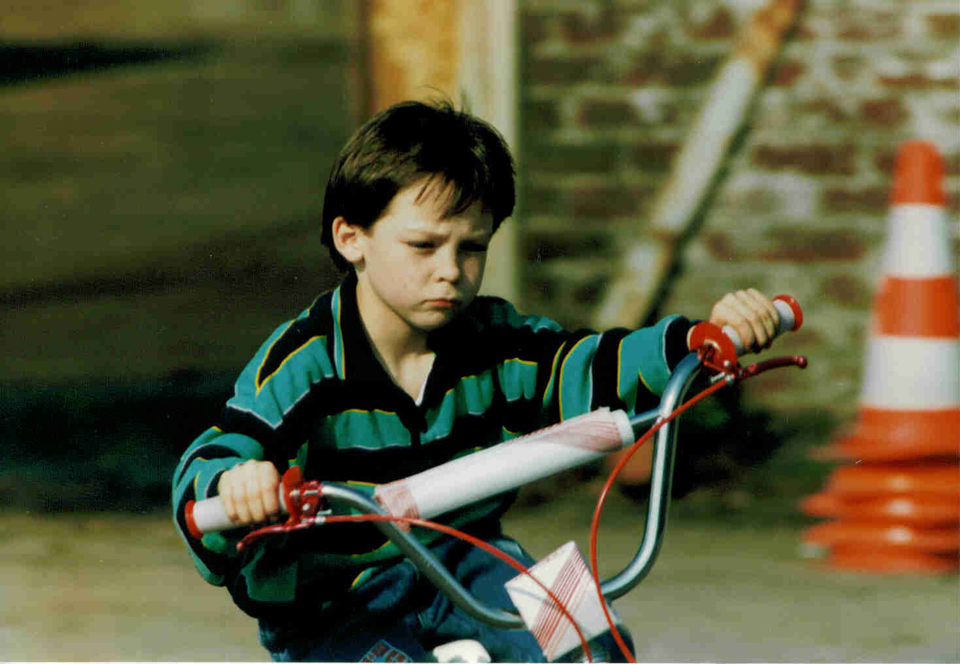André Lotterer childhood photo one at toyotagazooracing.com