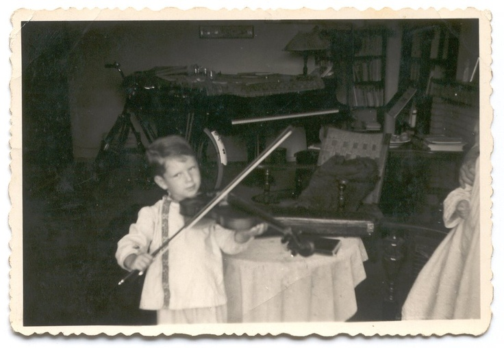 André Rieu childhood photo two at pinterest.com