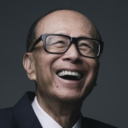 Li Ka-shing younger one at pinterest.com photo at pinterest.com