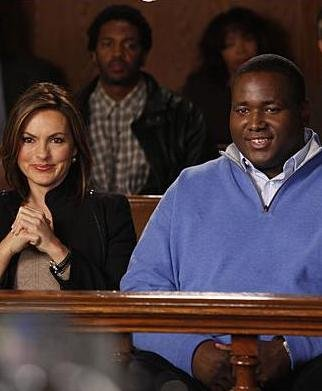 Quinton Aaron first movie:  Law & Order