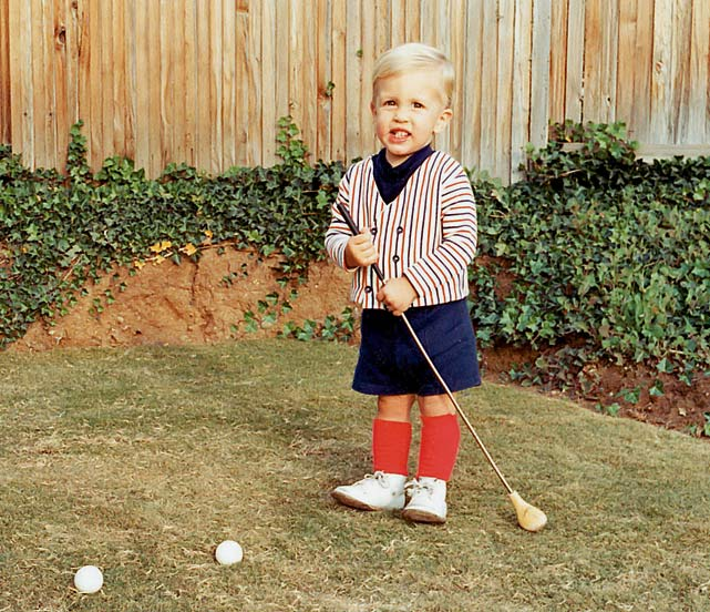 Phil Mickelson childhood photo one at Si.com