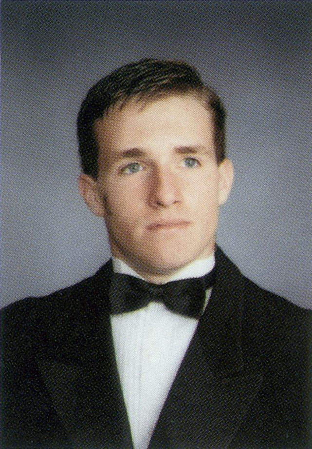 Drew Brees yearbook photo one at Si.com at Si.com