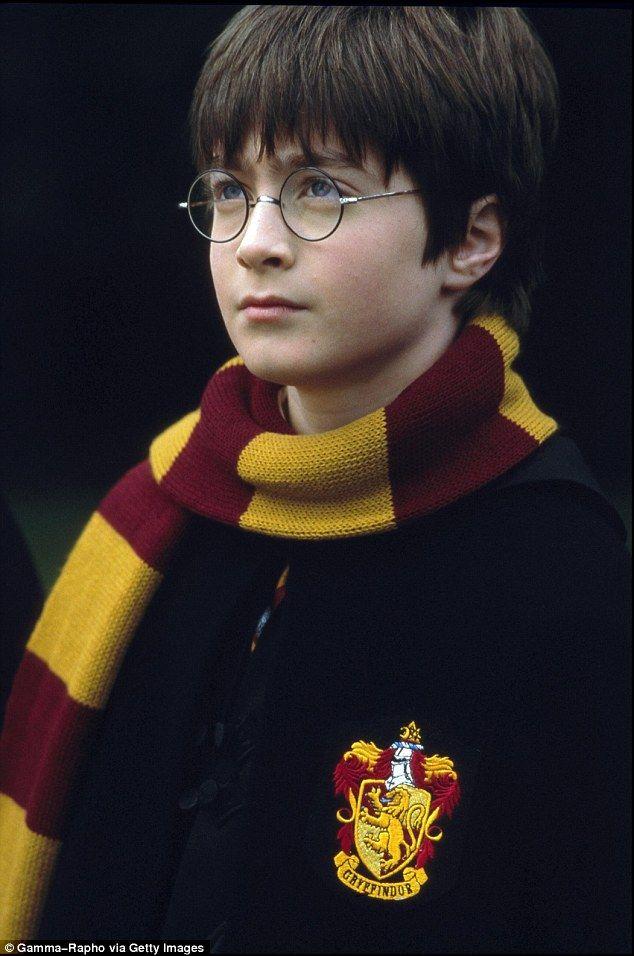 Daniel Radcliffe childhood photo two at pinterest.com