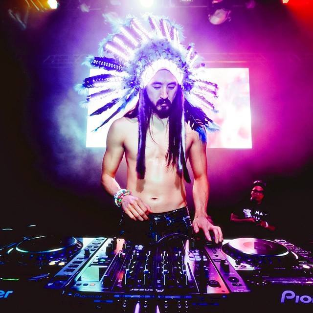 Steve Aoki younger photo two at pinterest.com