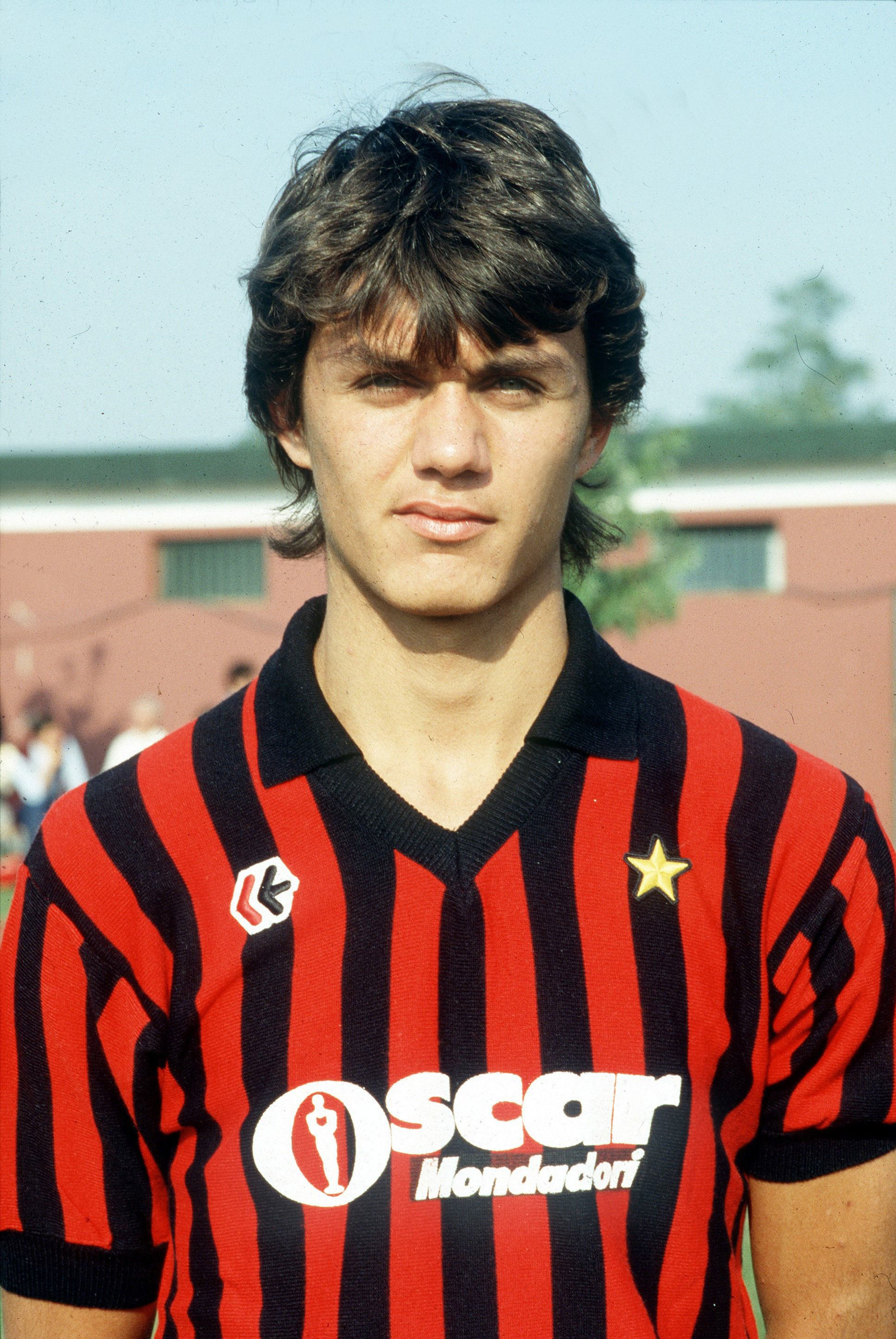Paolo Maldini younger photo two at pinterest.com