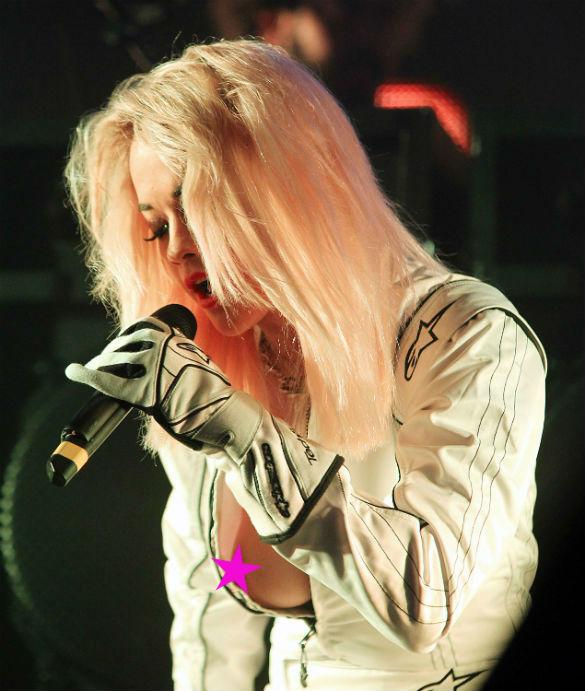 Wardrobe Malfunctions, Rita Ora