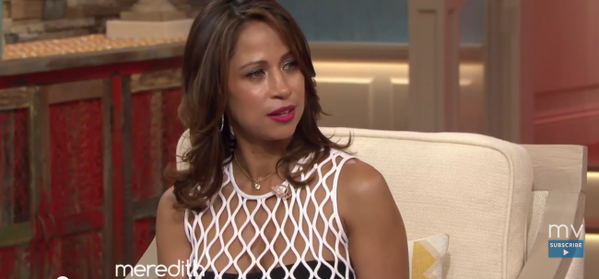 Stacey Dash continues to defend her comments from the show (Twitter/The Meredith Viera Show)