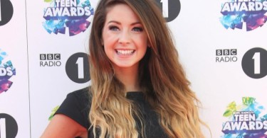Zoella, Zoe Suggs red carpet