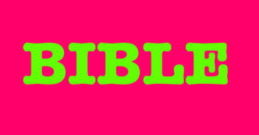 Slang terms: Bible