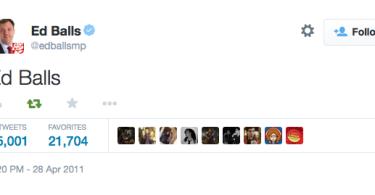 Ed Balls day Twitter