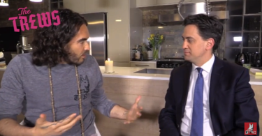 Russell Brand and Ed Miliband interview