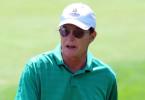 Bruce Jenner plays golf