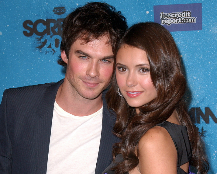 nina and ian dating Nina dobrev laughed off rumors she is dating again with the help of her vampire diaries co-stars.