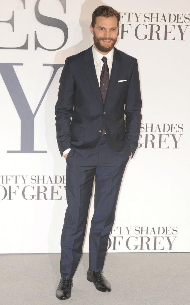 Jamie Dornan crowned world's sexiest man