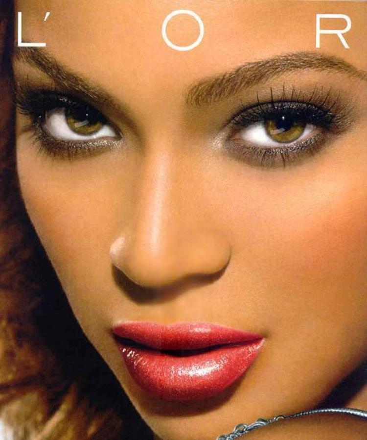 beyonces untouched loreal campaign goes viral