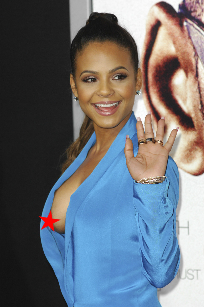 Wardrobe Malfunction, Christina Milian