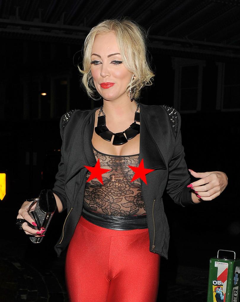 wardrobe malfunctions, Aisleyne Horgan-Wallace