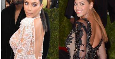Beyonce v Kim Kardashian Met Gala 2015