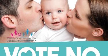 Vote No campaign poster