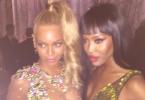 Met Ball 2015: Beyonce and Naomi Campbell