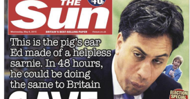 The Sun attack Ed Miliband