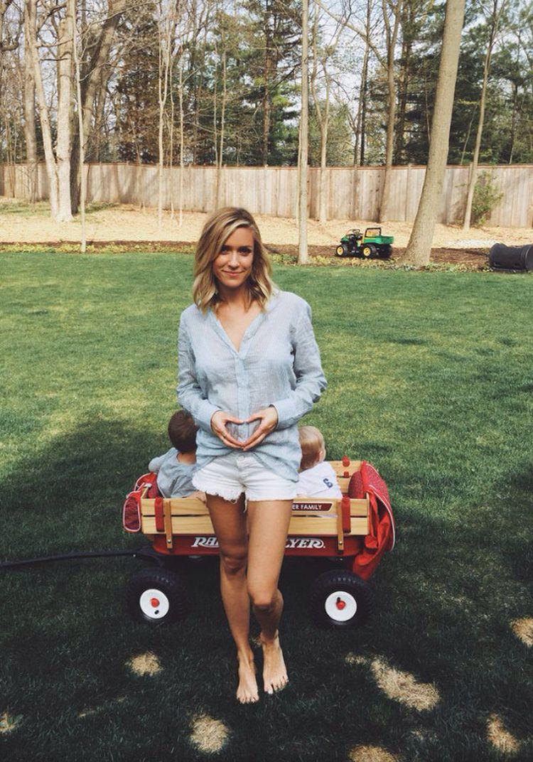 Kristin Cavallari announced her third pregnancy on Monday. (Emerald Duv)