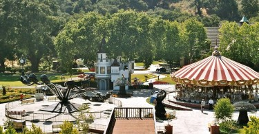 Neverland Ranch, as it looked in 2003. (WENN)