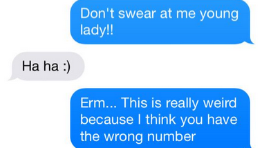 mother accidentally texts complete stranger