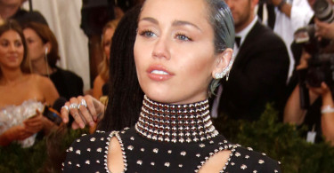 Miley Cyrus at the 2015 Met Gala