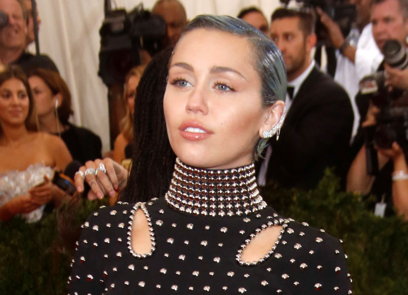 Miley Cyrus at the 2015 Met Gala
