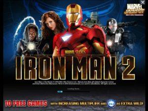 Iron Man 2 slot machine