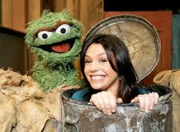 Rachel Ray first movie:  Sesame Street
