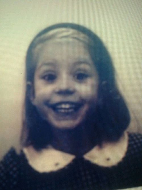 Adèle Exarchopoulos childhood photo one at weheartit.com