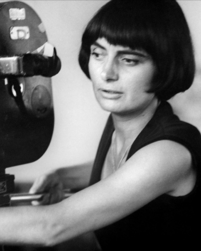 Agnes Varda younger photo one at wordpress.com