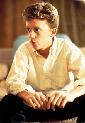 Anthony Michael Hall childhood photo two at pinterest.com