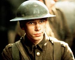 Ben Whishaw first movie:  The Trench