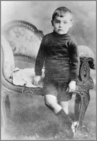 Cary Grant childhood photo one at homohistory.com