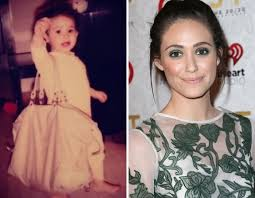 Emmy Rossum childhood photo two at thehollywoodgossip.com