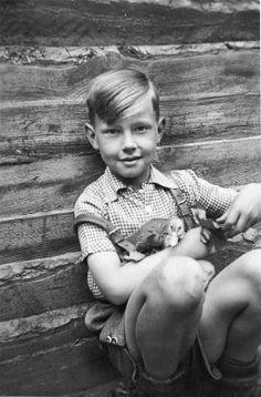 Wolfgang Joop childhood photo one at Pinterest.com
