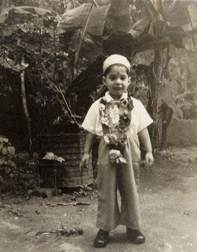 Freddie Mercury childhood photo one at dailymail.co.uk