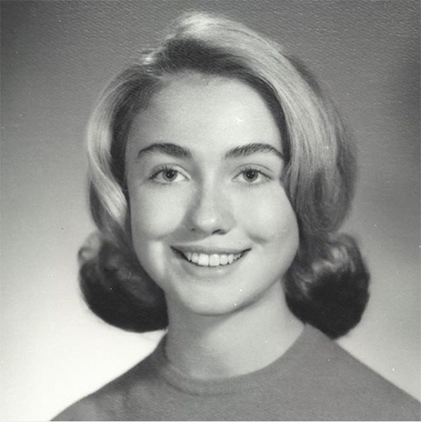 Hillary Clinton yearbook photo one at sheknows.com at sheknows.com