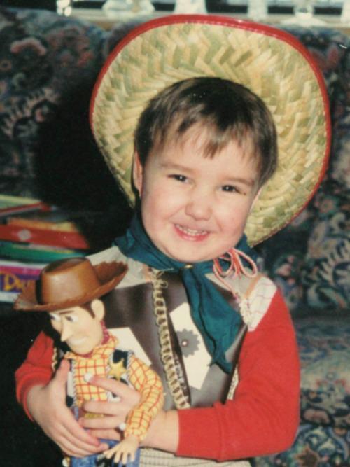 Liam Payne childhood photo two at tumblr.com