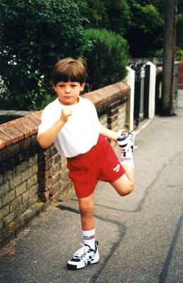 Louis Tomlinson childhood photo one at blogspot.com