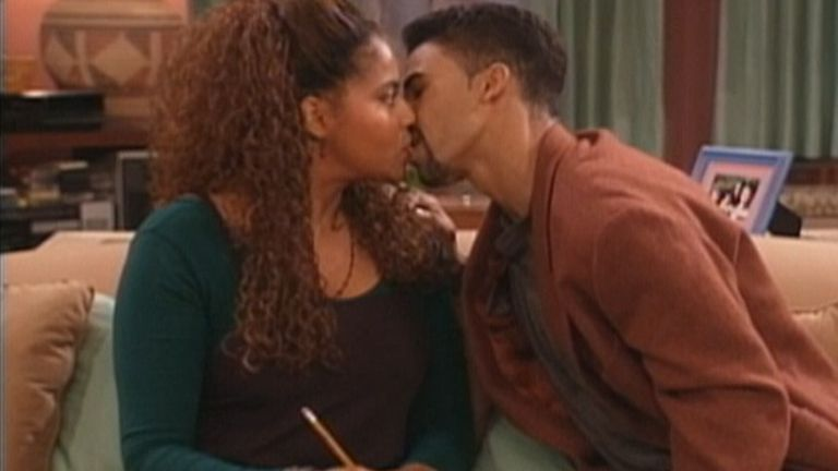 Shemar Moore first movie:  Living Single