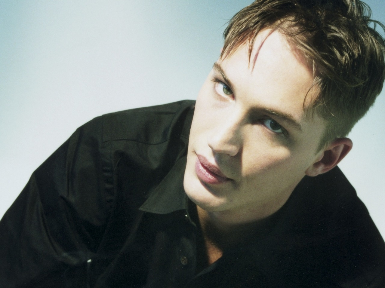 Tom Hardy younger photo two at pinterest.com