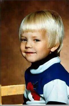 Kimi Räikkönen childhood photo one at Pinterest.com