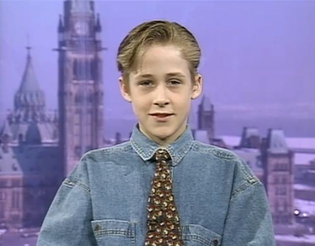 Ryan Gosling childhood photo one at Pinterest.com